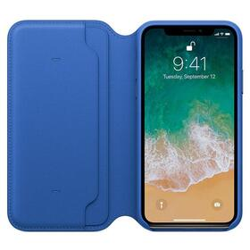 fc4868db11a APPLE FUNDA IPHONE X LEATHER FOLIO , AZUL ELECTRICO , MRGE2ZM/A