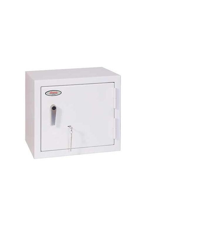 phoenix-ss1161k-caja-fuerte-de-superficie-blanco-2-llaves-119-l-acero-suelopared