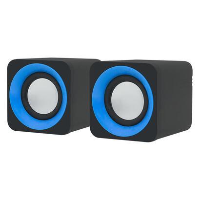 blow-altavoces-20-ms-23-3-w-negro-azul-gris-cableado