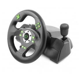esperanza-egw101-mando-y-volante-playstationplaystation-3-digital-usb-negro-verde