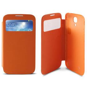 funda-folio-window-battery-ksix-con-ventana-transparente-para-s4-i9505-naranja
