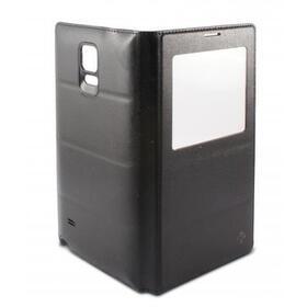 funda-folio-window-battery-ksix-con-ventana-transparente-para-note-4-negra