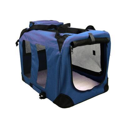 caja-de-transporte-para-perros-colchoneta-talla-m-70cm-azul-marino