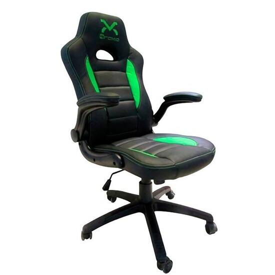 SILLA GAMING DROXIO TROUN VALUE/ NEGRA Y VERDE