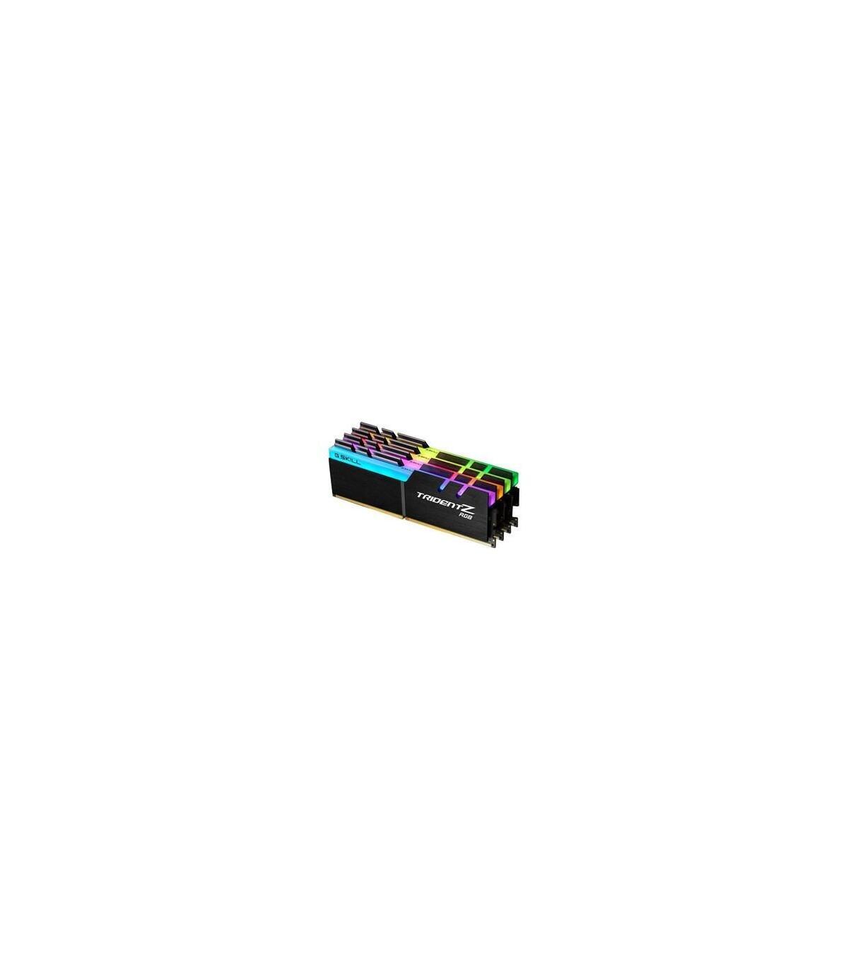 MEMORIA GSKILL DDR4 32GB 3200 C14 TZ RGB KIT 4 4X8GB