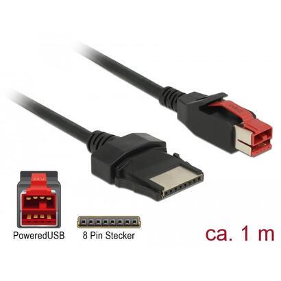 delock-85477-poweredusb-cable-macho-24-v-8-pines-macho-1-m-para-terminales-e-impresoras-pos