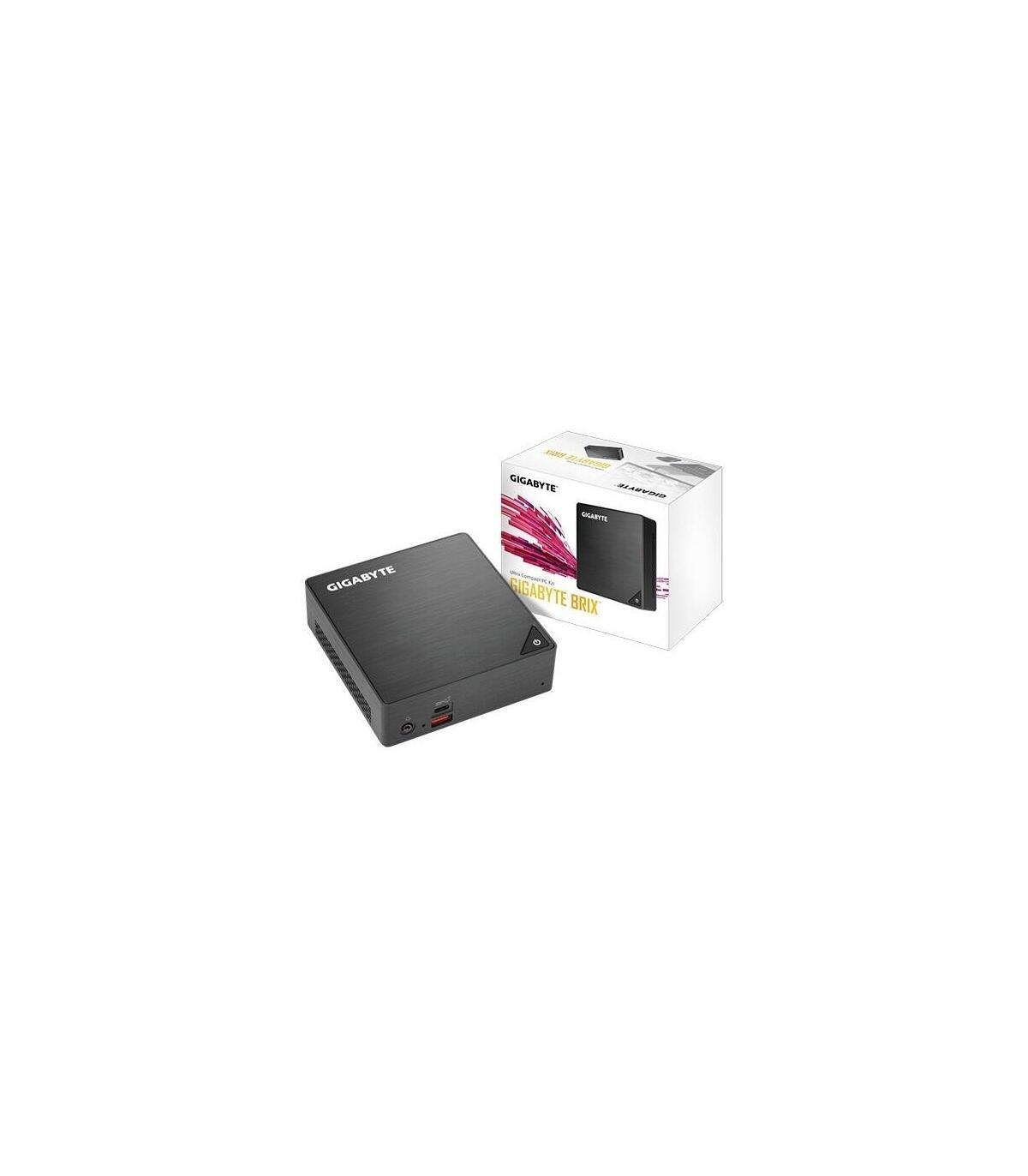 BAREBONE MINI PC BRIX GIGABYTE GB-BRI7-8550-BW I7 SIN HD NI RAM USB3