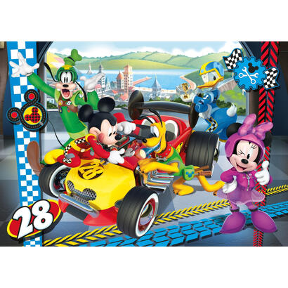 clementoni-puzzle-104-el-super-kolor-mickey-roadster-racers-27984