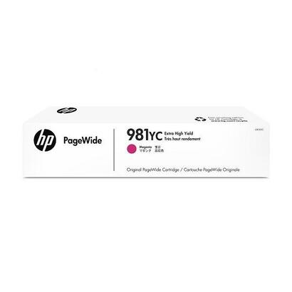 tinta-original-hp-n-981yc-magenta-para-pagewide-managed-color-mfp-e58650dn-pagewide-managed-color-flow-mfp-e58650z