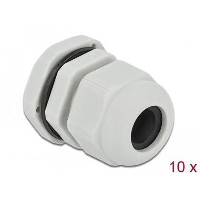 delock-prensaestopa-para-cable-pg135-10-piezas-gris