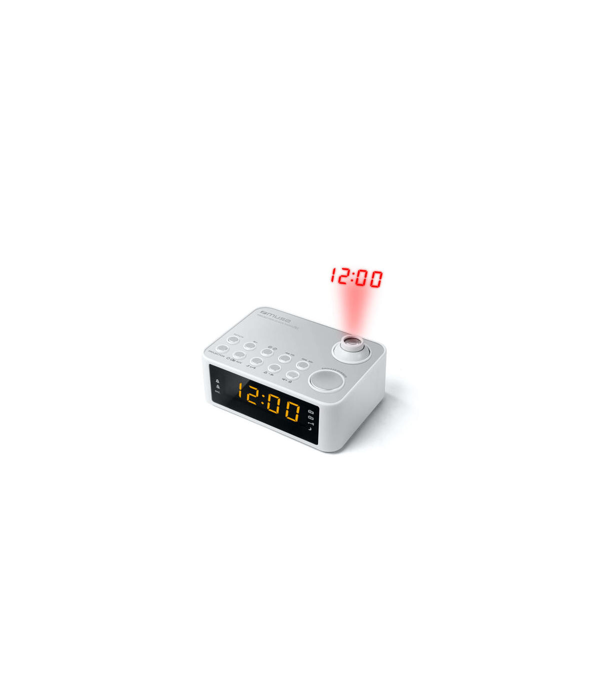 Muse M-28 VF Radio port/átil Pantalla LCD, Entrada AC de 230 V, frecuencia de 50 Hz