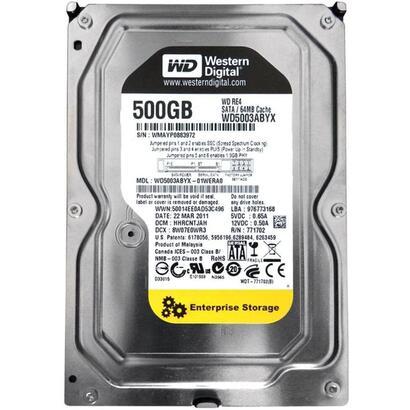 reacondicionado-hd-wd-500gb-sata-wd5003abyx-6m-garantia