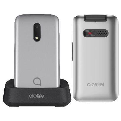 telefono-movil-alcatel-3026-metallic-gray-pantalla-28-71cm-qvga-128mb-ram-256mb-rom-microsd-bt-linterna-boton-sos-bat950mah