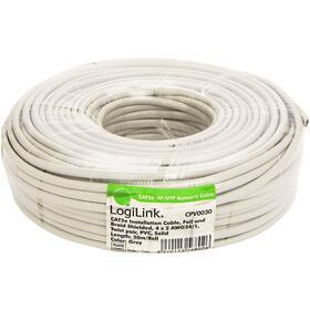 logilink-cable-de-red-sfutp-cat5e-50m-gris