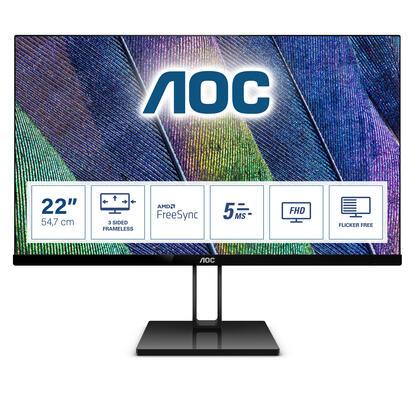 monitor-aoc-215-22v2q-ips1920x1080hdmi-dp5ms75hz-flickerfree