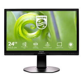 philips-monitor-241p6epjeb-led-multimedia-2381-604cm-ips-ads-fullhd-250cd-m2-5ms-vga-dvi-d-display