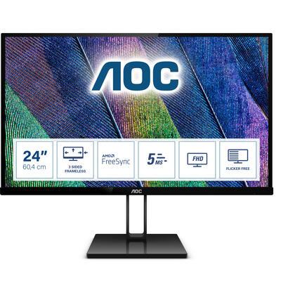 monitor-aoc-2381-24v2q-1920x1080hdmi-dp5ms75hz-flickerfree