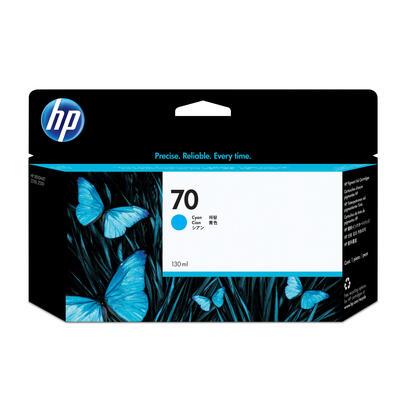 tinta-original-hp-70-130-ml-cian-original-para-designjet-hd-pro-mfp-z2100-z3100-z3100ps-z3200-z3200ps-z5200-z5400