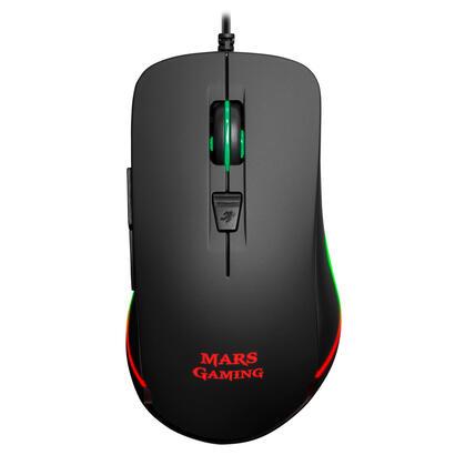 mouse-mars-gaming-mm118-optico-9800dpi-6-botones-gaming-cable-15-metros-iluminacion-chroma-rgb-switch-mecanico-huano-software-de