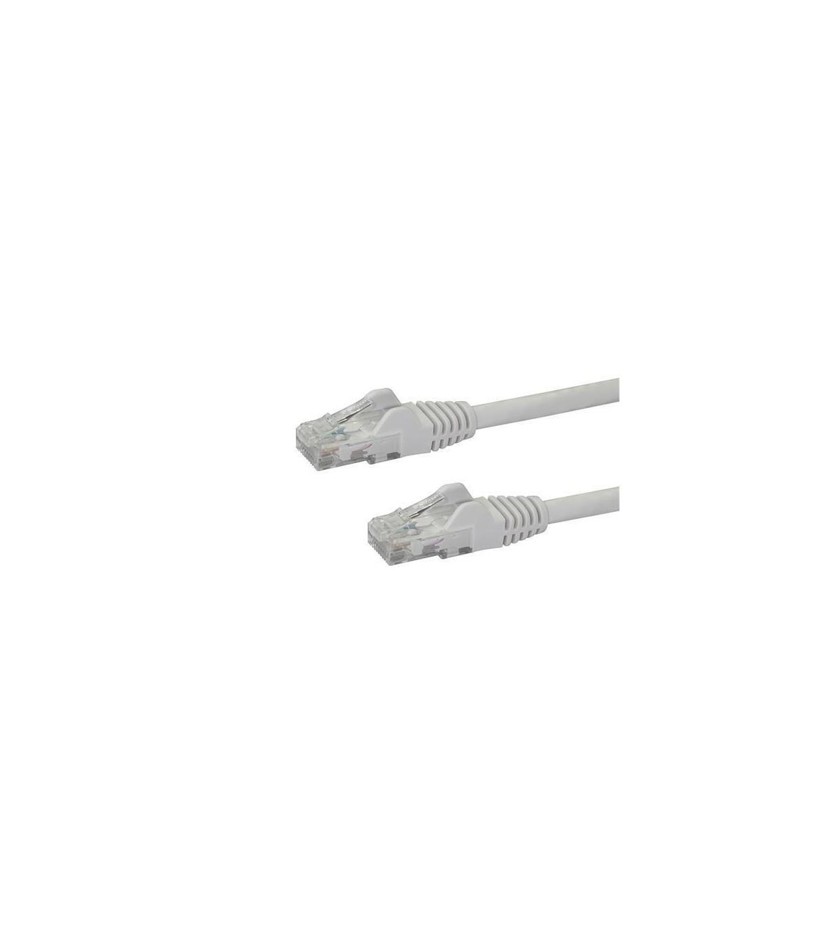 StarTech.com Cat6a Ethernet Cable STP Aqua Shielded - 2 m