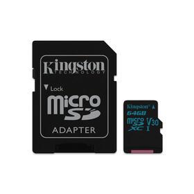 micro-sd-kingston-64gb-v30-sdxc-canvas-go-clase10-uhs-i-u3-90mbs-con-adaptador