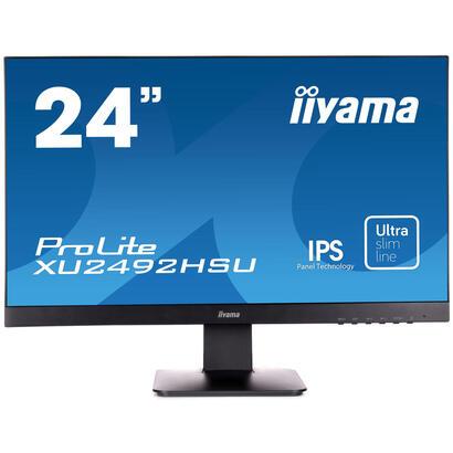 monitor-iiyama-2381-prolite-xu2492hsu-b11920-x-1080-full-hd-1080pips250-cdm100015-mshdmi-displayportaltavocesnegro