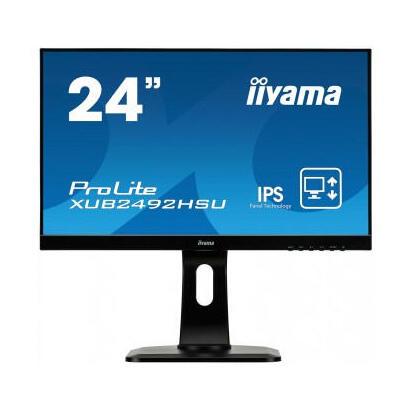 monitor-iiyama-2381-prolite-xub2492hsu-b11920-x-1080-full-hd-1080pips250-cdm100015-mshdmi-vga-displayportaltavocesnegro