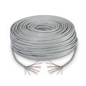 bobina-de-cable-aisens-a134-0224-rj45-cat5e-ftp-awg24-rigido-100m-gris