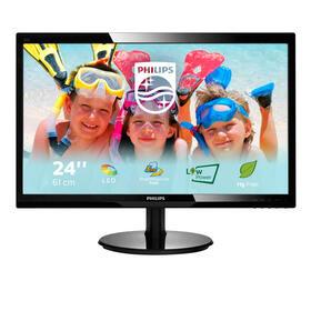 philips-monitor-24-246v5lsb-169-fullhd-60hz-5ms-250cdm2-10m1-vga-dvi-con-smartcont