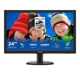monitor-241-philips-243v5lhsb500-v-line-169vgadvihdmi
