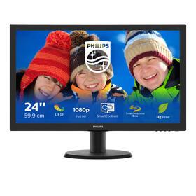 monitor-phiilips-236-243v5lsb5-led-1920x1080-169-5ms-10001-vgadvi-in