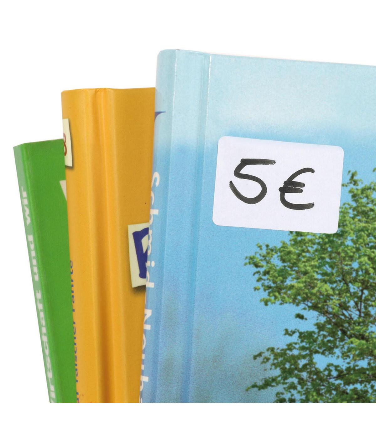 Vielzwecketiketten weiß 8x20 mm Papier matt 2240 St.