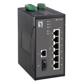 levelone-switch-8x-fe-ies-0822-1xsc-616w-4xpoe