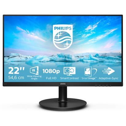 monitor-philips-221v800-215-va-fullhd-1920x1080-hdmi-vga-black-color