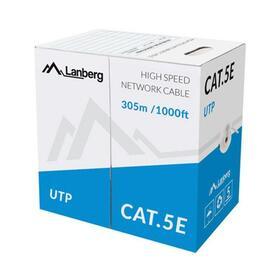 lanberga-bobina-de-cable-lcu5-10cc-0305-srj45cat5eutpawg24305mgris