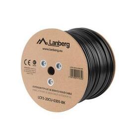 lanberg-bobina-de-cable-para-exterior-apantallado-lcf5-20cu-0305-bk-rj45-cat5e-ftp-awg24-305m-negro