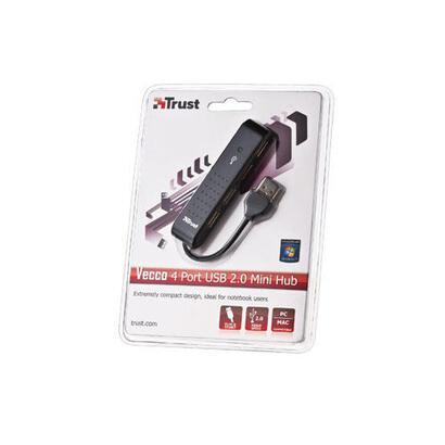 trust-hub-mini-vecco-4-puertos-usb-20-diseno-plano-y-compacto-color-negro
