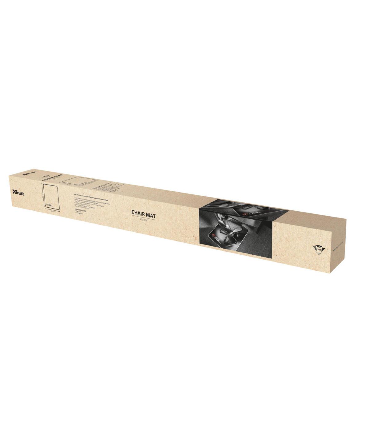 TRUST ALFOMBRA PARA SILLA GAMING GXT 715 99x120 cm NEGRO 22524
