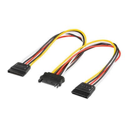 goobay-cable-alimentacion-interno-sata-a-x2-sata-mh