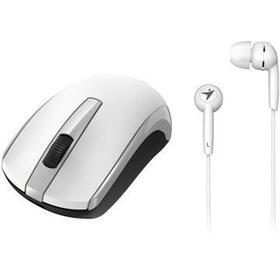 genius-raton-mh8100-bateria-recargable-blanco-auricular