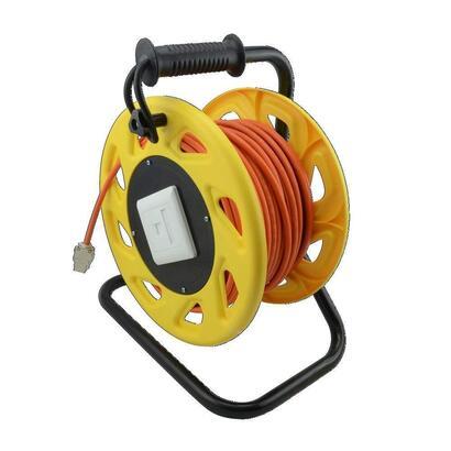 logilink-carrete-cable-cat-7a-conector-cat6a-keystone-jack-90m-naranja-cq5090s