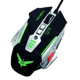 logilink-raton-gaming-8-botones-3200-dpi-negro-plata-id0156