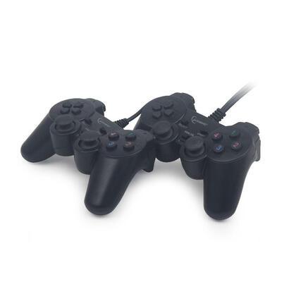 gembird-jpd-udv2-01-gamepad-pc-negro-mando-y-volante