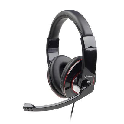 gembird-auricular-con-micro-mhs-001-diadema-negro