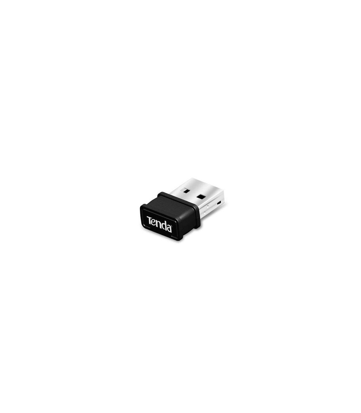 TENDA ADAPTADOR WIFI MINI USB 150Mbps. WPS. AP Soft. W311Mi